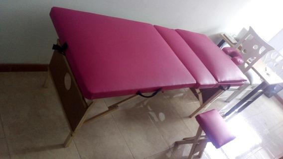 Camilla Portatil Tipo Spa ..sillar Para Depilar
