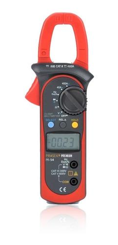 Pinza Amperimétrica Digital Prasek Premium Rango 40a / 400a