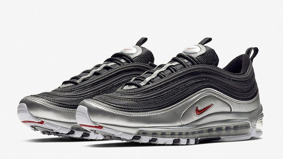 Botas Nike Air Max 97 Qs Black/varsity Red/silver