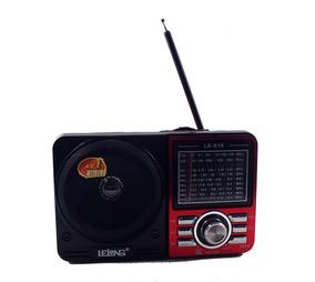 Caixa De Som Rádio Lelong Le-610 Usb - Mini Sd - P2 A10092