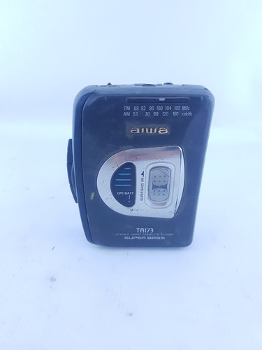 Walkman Rádio Toca Fica Aiwa Ta173 #j