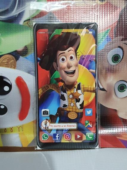 Toy Story Buzz Woody Invitacion Fiesta Infantil 20
