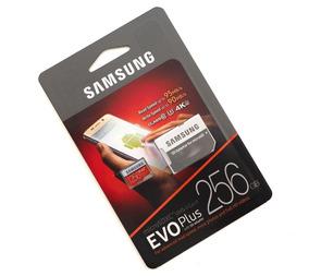 Samsung Micro Sdxc Evo U3 95mb/s 633x 4k 256gb C/ Adaptador