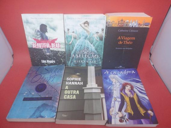 Lote 11 Livros O Mundo De Sofia Policia Suspense Drama