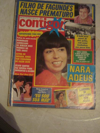 Revista Contigo Nº 717 - Nara, Adeus - Salvador Da Pátria 89