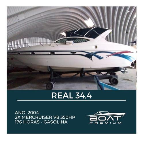 Real 34.4 , 2004, 2x Mercruiser V8 350hp - Colunna - Nx -