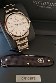 Relógio Victorinox Officer´s Day-date Canivete Suíço