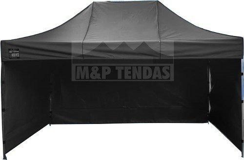 Tenda Sanfonada 4,5x3 + 3 Laterais Ferro Resistente