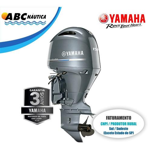 Motor De Popa Yamaha 150hp 4t  Leia Anúncio