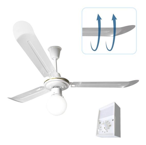 Ventilador De Techo Con Luz Apto Led + Potencia