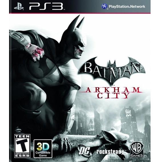 Batman Arkham City Ps3 Original Completo Legendas Português