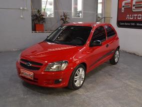 Chevrolet Celta 1.4 Lt Spirit Nafta 2013 3 Puertas Rojo