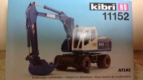Kibri Escavadeira Atlas 1/87 Em Pastico Aproveite!!!