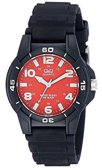 Reloj Caballero Deportivo Original Q&q Acuatico Grpo Citizen
