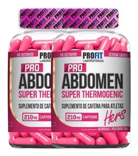2x Termogênico Pro Abdomen Hers - 60 Caps - Profit Labs