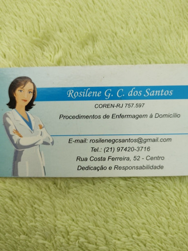 Imagem 1 de 1 de Trabalho De Home Care & Procedimento Á Domicílio