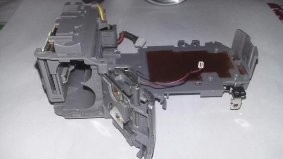 Compartimento Das Pilhas Com Tampa, Câmera Digital Sony H2