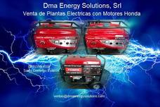 Plantas Electricas Con Motores Honda Nuevas Recien Importada