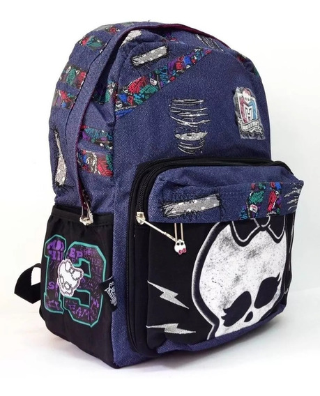 Mochila De Espalda Monster High Con Lic.original 16 Jean