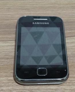 Celular Samsung Galaxy Young Preto Usado Bloqueado Pra Vivo