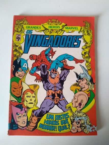 Gibi Os Vingadores Número 1 Ano 1983