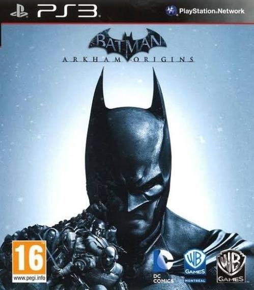Batman Arkham Origins Ps3 - Leia Descrição