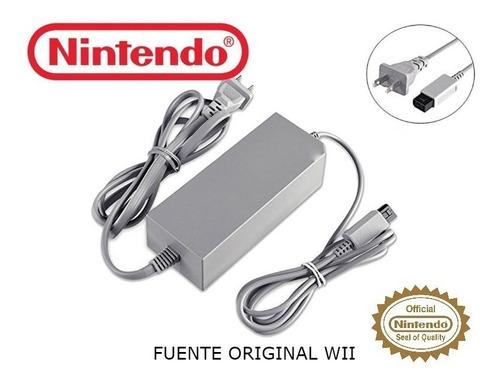 Fuente Original Nintendo Wii 110v Original / Makkax
