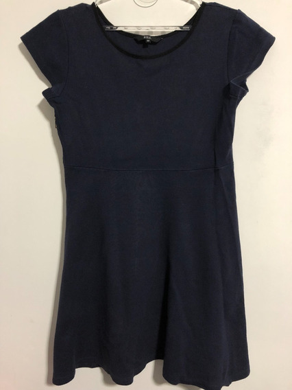 Vestido Marca Kill Talle 44 Color Azul