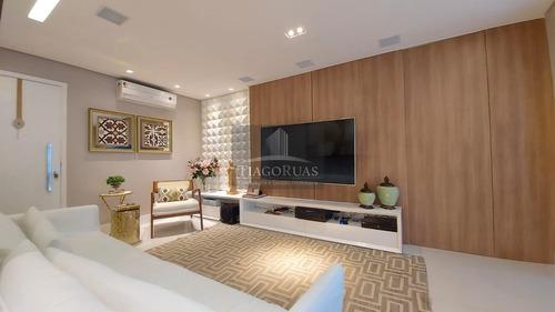 Imagem 1 de 28 de Greenville - Lindo Apartamento Com 88 M² 3/4 Sendo Uma Suíte, Closet E 1 Vaga De Garagem - Ap00064 - 69925888