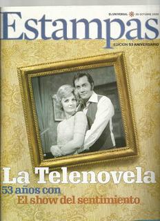 Revista Estampas 53 Aniversario La Telenovela De Colección