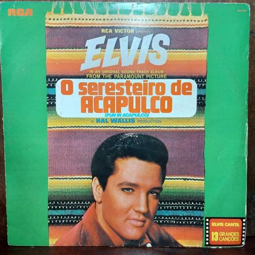 Vinil Lp Elvis Presley O Seresteiro De Acapulco 1978