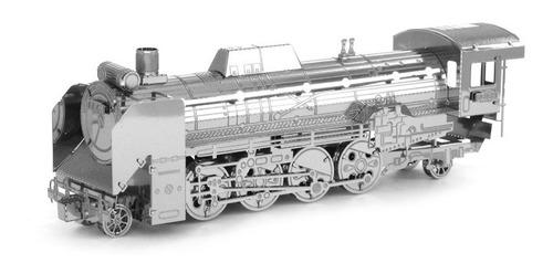 Locomotora Rompecabezas Metálico 3d En Stock! Envío Ya!