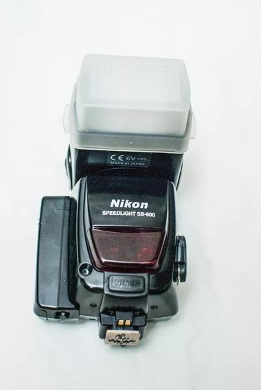 Flash Nikon Speedlight Sb-800 Lampada Nova