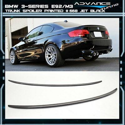 Stock in LA!BMW E92 3-Series 07-13 Coupe P Trunk Lip Spoiler Rear Wing Unpaint