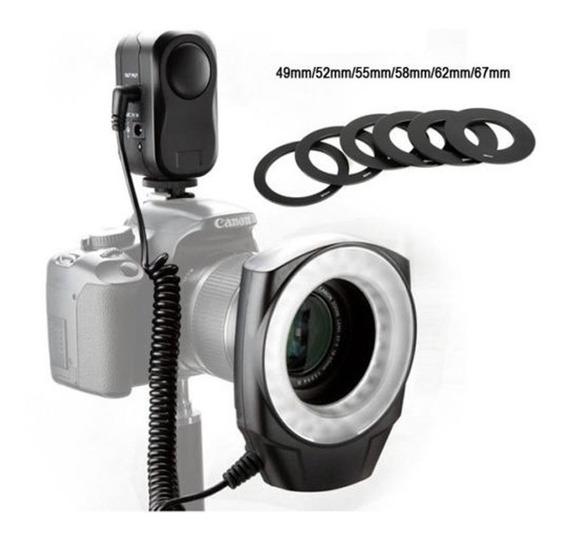 Iluminador Circular Macro Ring 48 Godox Canon Nikon