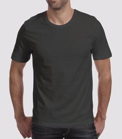 Camiseta Lisa Básica Algodão Camisa Lisa Algodão