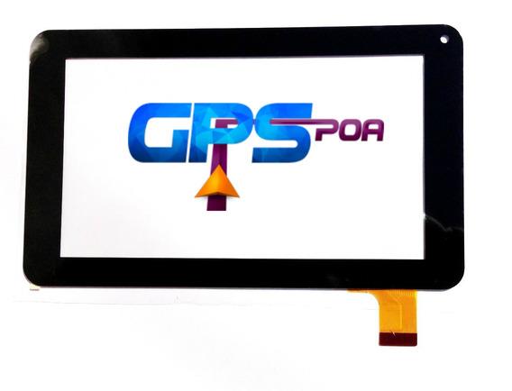 Tela Touch Qbex Zupin Tx140 Tx-140 7 Polegadas Envio Já
