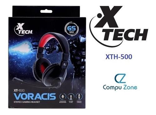 Audifono Gamer Xth-500 Auriculares Con Microfono Pc Plug 3.5