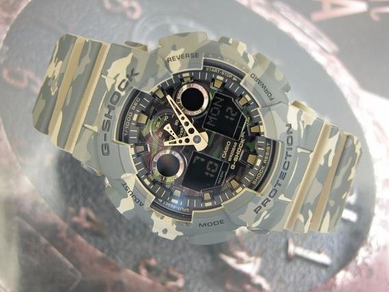 Relógio Casio G-shock Camuflado Ga-100cm-5adr