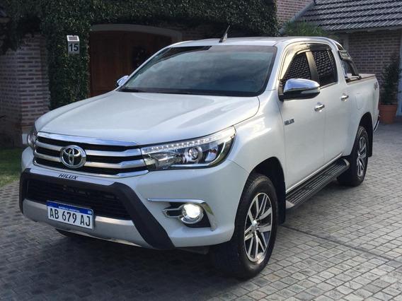 Toyota Hilux Srx At 2017 4x4 ,45m Km. Servis Ofic. 1° Mano