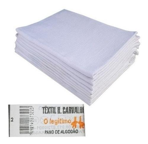 Imagem 1 de 5 de Pano De Prato Branco O Legítimo Elite Kit Com 20 Peças