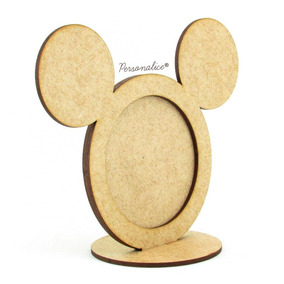 Kit 15 Porta Retrato Mickey Lembracinha Personalizada