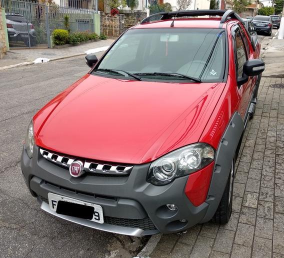Fiat Strada 1.8 Mpi Adventure Ce 16 V 2p Manual Vermelha