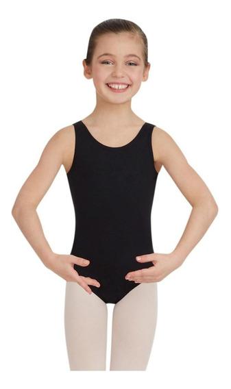 Mallas Ballet Patin Gimnasia Niñas Negro La Mejor Calidad