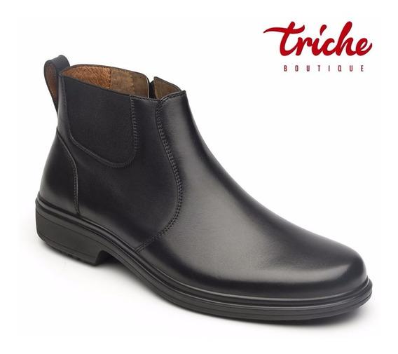 Calzado Botín Caballero Flexi Negro 98104 Vestir Clásico