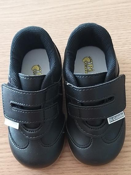 Sapato Social Preto Infantil