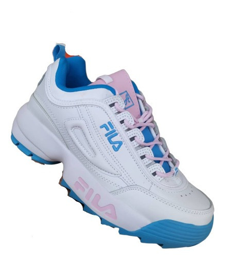 Zapatos Fila Disruptor Original Deportivos Dama