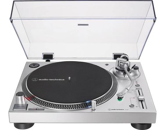 Toca Disco Audio-technica Atlp120x Lp-120x 2019 Lp120 Prata