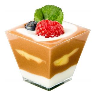Vasito Mini Piramide P/postres Candy Bar Catering 100 Pzas