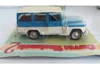 Miniatura Carro Rural Willys Esc:1/32 Lacrada Raro